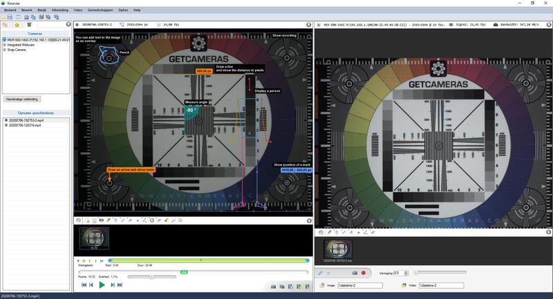Kinovea image & sport capture, observation, annotation and measurement software