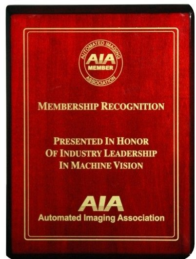 Member of AIA (Automated Imaging Association)