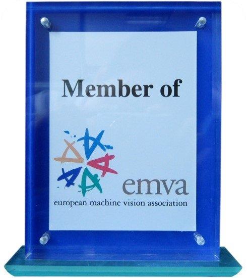 Member of EMVA (European Machine Vision Association)