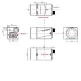 """MER-500-14GC-P, MT9P031, 2592x1944, 14fps, 1/2.5"""", Rolling shutter, CMOS, Color_"""