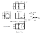 """MER-1220-32U3C-L, IMX226, 4024x3036, 32fps, 1/1.7"""", Rolling shutter, CMOS, Color_"""