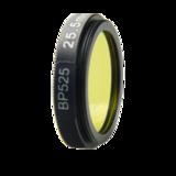 LFT-BP525-M35.5, Narrow bandpass filter,  525nM Peak wavelength, useful range between 508-556nM_