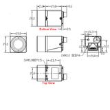 """MER-133-54GC, AR0135, 1280x960, 54fps, 1/3"""", Global shutter, CMOS, Color_"""