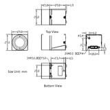 "MER-500-14U3M-L, MT9P006, 2592x1944, 14fps,  1/2.5"", Rolling shutter, CMOS, Mono_"