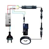 Industrial LED strobe controller, trigger 10us ~1023ms, input 12V ~ 48V_