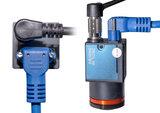 3-meter USB3.0 cable - 90degree, Screw lock, Industrial grade, 90degree_