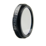BP830 optical lens filter for machine vision camera