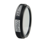 BP960 optical lens filter for machine vision camera