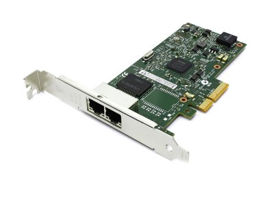 Adapter PCIe4x - 2x GigE - dual bus