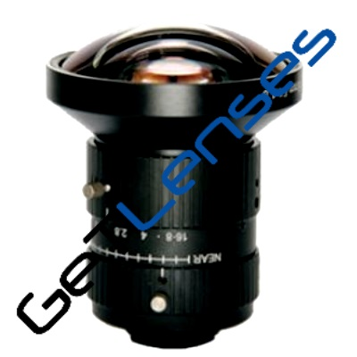 """LCM-10MP-06MM-F1.8-1.1-ND1, LENS C-mount 10MP 6MM F1.8 1.1"""" NON DISTORTION"""