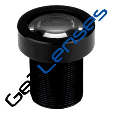 "LM12-5MP-03MM-F2.8-2-ND1, LENS M12 5MP 3.3MM F2.8 1/2"" NON DISTORTION"