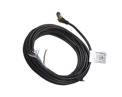 I/O cable 5M hirose 8-pin- 90 degree - MER Cameras