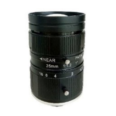 LENS C-10MP-25MM-F1.2-1INCH NON DISTORTION