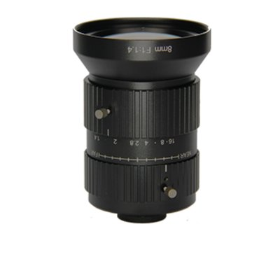 LENS C-10MP-8MM-F1.4-1.1INCH LOW DISTORTION