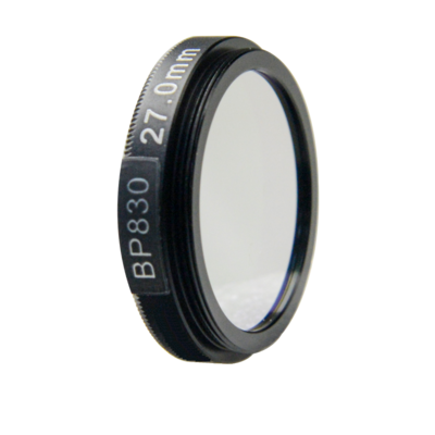 LFT-BP830-M30.5, Narrow bandpass filter,  830nM Peak wavelenght, useful range between 802-868nM