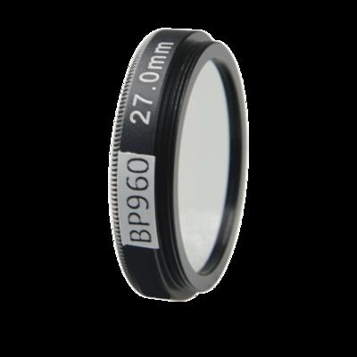 LFT-BP960-M27, Narrow bandpass filter,  960nM Peak wavelenght, useful range between 930-986nM
