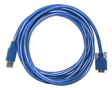 4.6-meter USB3.0 cable, Screw lock, Industrial grade