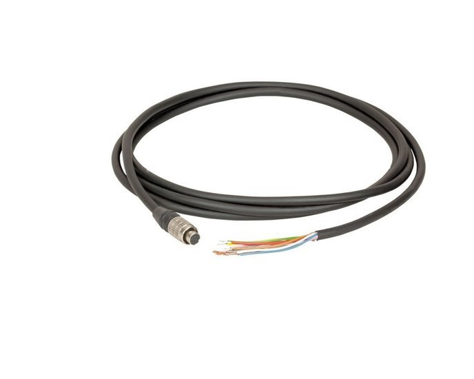 I/O cable 10M Higflex hirose 8-pin - open end - MER Cameras, Industrial grade