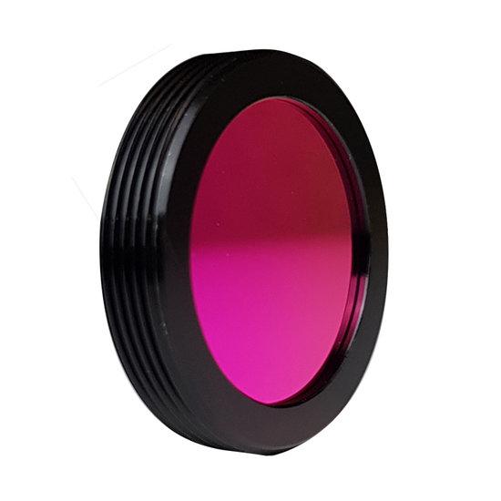 LFT-BP630-CMT, Narrow bandpass filter, 630nM peak wavelength, useful range between 610-648nM