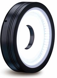 Ring light (diffuse flat bright-field), 100mm, wit, 24V / 8,6W, LED1-RIH-100W