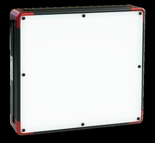 Bottom lit backlight, 100mm, wit, 24V / 9.5W, LED1-FL-100x100W