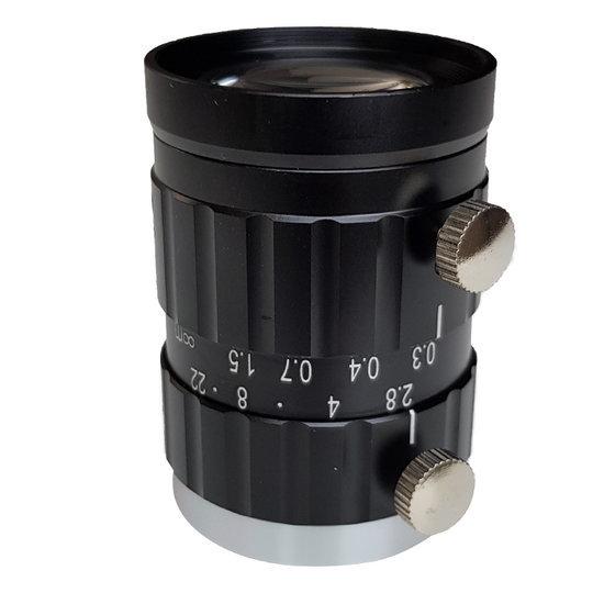 LCM-20MP-50MM-F2.8-1.1-ND1, LENS C-mount 20MP 50MM F2.8 1.1