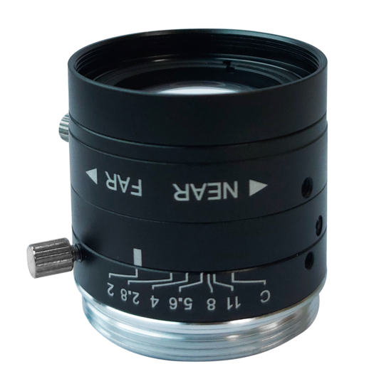 LCM-5MP-06MM-F2.0-1.8-ND1, LENS C-mount 5MP 6MM F2.0 1/1.8