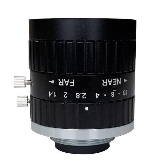 LCM-5MP-08MM-F1.4-1.5-ND1, LENS C-mount 5MP 8MM F1.4 2/3