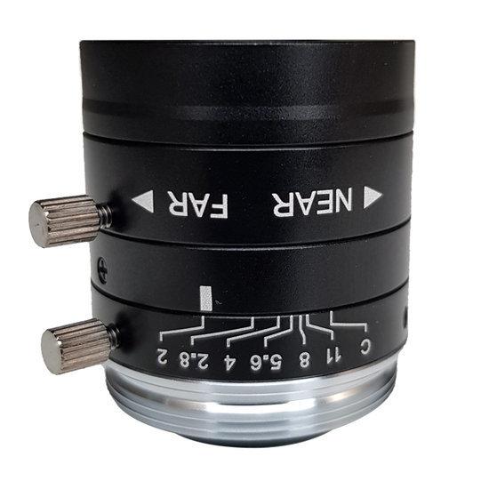 LCM-5MP-08MM-F2.0-1.8-ND1, LENS C-mount 5MP 08MM F2.0 1/1.8