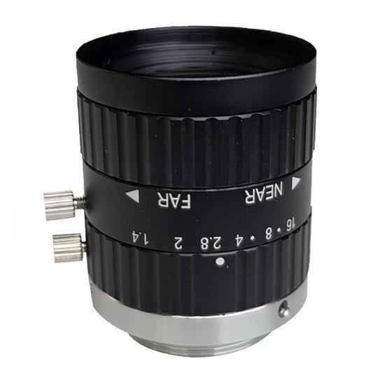 LCM-5MP-12MM-F1.4-1.5-ND1, LENS C-mount 5MP 12MM F1.4 2/3
