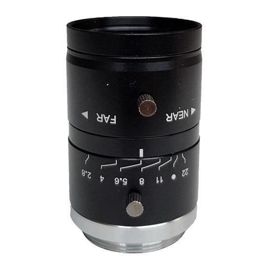 LCM-5MP-50MM-F2.8-1.8-ND1, LENS C-mount 5MP 50MM F2.8 1/1.8
