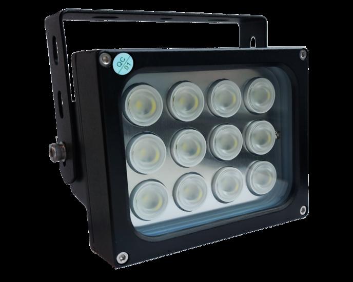 LED Spot, 120degree, NIR 850nM, 24V / 28W, LED3-LS-120-24V-28W-NIR850