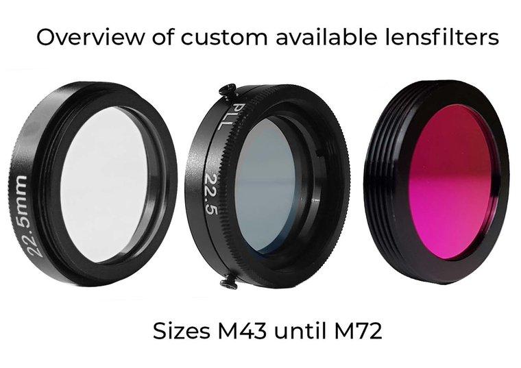 LFT-Bandpass-Longpass-M43-M72