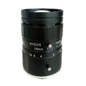 """LCM-10MP-25MM-F1.2-1-ND1, LENS C-mount 10MP 25MM F1.2 1"""" NON DISTORTION"""
