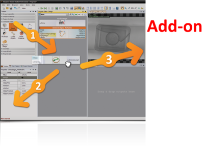 Adaptive Vision Studio 4.12 Library Add-ON + Code Generator