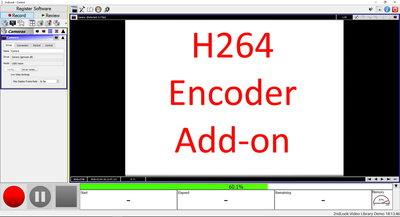 H.264 encoder recording software