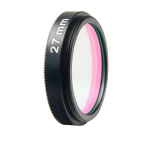 LFT-UVIRCUT-M35.5, UV + IR-Cut filter, useful range between 398-698nM