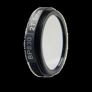 LFT-BP830-M35.5, Narrow bandpass filter,  830nM Peak wavelength, useful range between 802-868nM