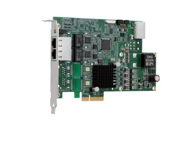 Adapter PCIe4x - 2x GigE PoE- dual bus