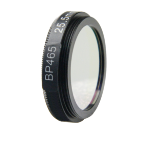 BP465 optical lens filter for machine vision camera