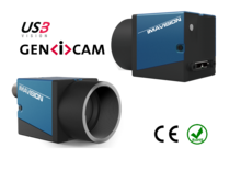 USB3 Vision Camera with OnSemi AR0135 sensor, model MER-133-54U3C-L