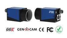 GigE Vision Camera with PoE and Sharp130 sensor, model MER-132-43GM-P